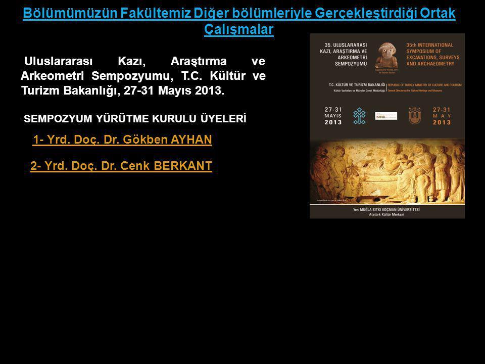 Uluslararası Kazı, Araştırma ve Arkeometri Sempozyumu, T.C.