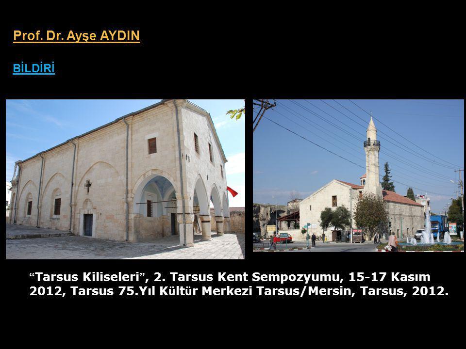 Tarsus Kiliseleri , 2.
