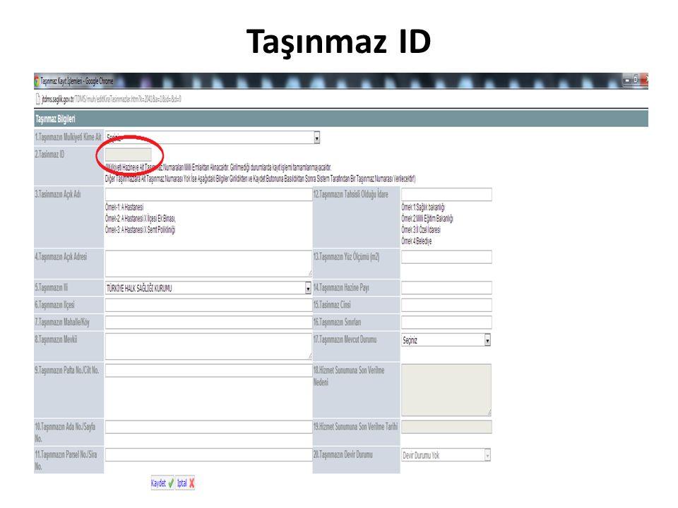 Taşınmaz ID