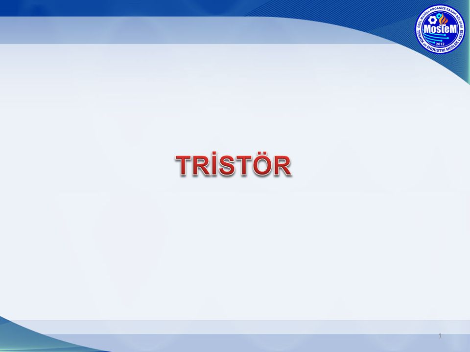 12 Tristörün Gate ucuna +(artı) polarma uygulayarak, iletime geçmesini sağladık.