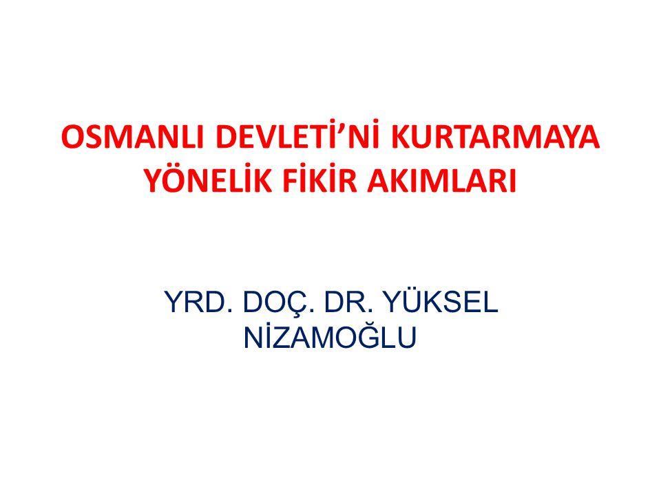 12YRD. DOÇ. DR. YÜKSEL NİZAMOĞLU