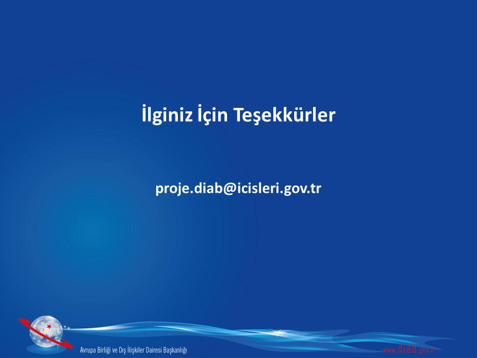 İlginiz İçin Teşekkürler proje.diab@icisleri.gov.tr