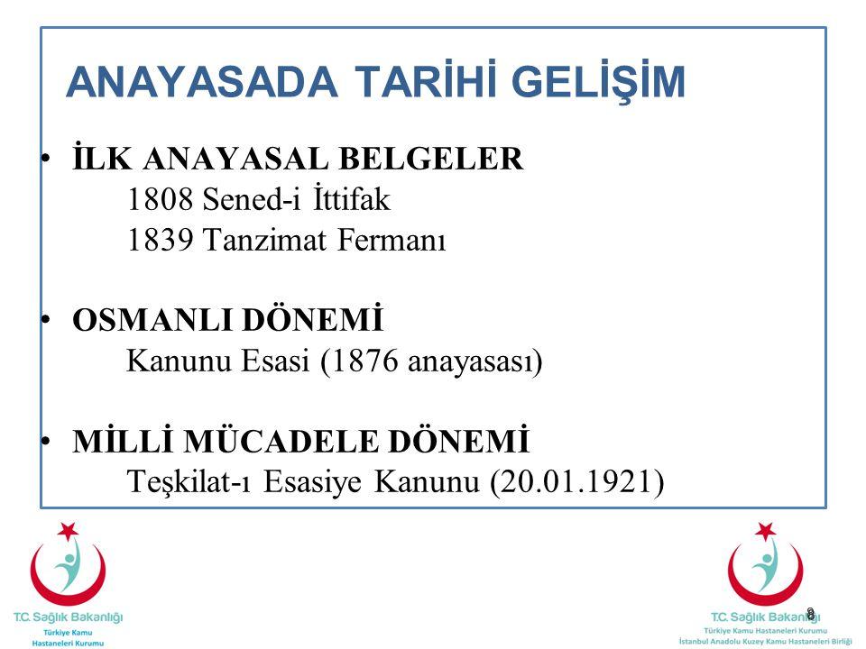 99 YÜRÜTME Bakanlar Kurulu Göreve başlama ve güvenoyu (Madde-110) Bakanlar Kurulunun listesi tam olarak Türkiye Büyük Millet Meclisine sunulur.