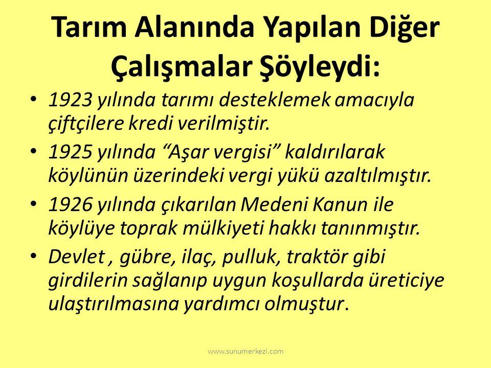 www.sunumerkezi.com Bunları biliyor musunuz? Atatürk 11 haziran 1937 tarihli bir bir tezkere ile orman çiftliği ile birlikte diğer çiftliklerini hazin