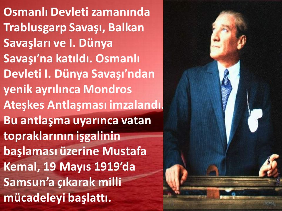 Mustafa Kemal, 23 Nisan 1920'de TBMM'nin açılması ile Meclis ve Hükümet Başkanlığına seçildi.