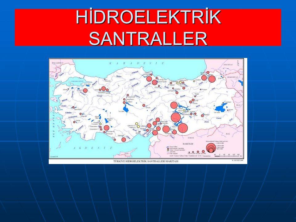 HİDROELEKTRİK SANTRALLER