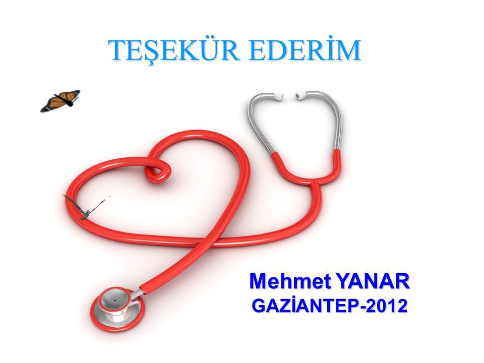 58 TEŞEKÜR EDERİM Mehmet YANAR GAZİANTEP-2012