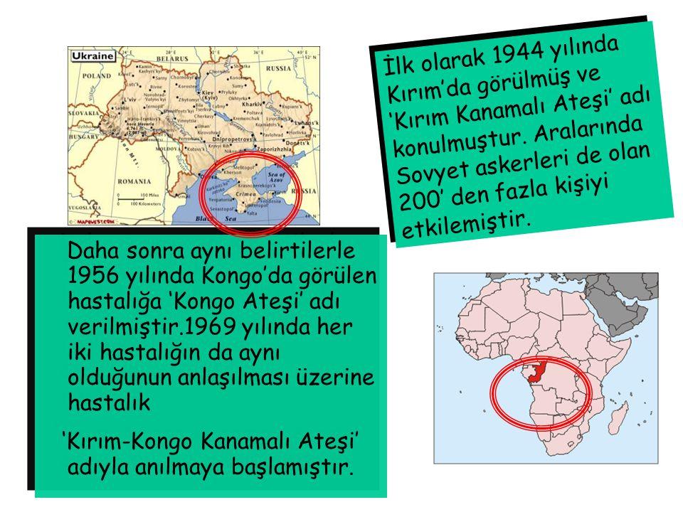 Daha sonra aynı belirtilerle 1956 yılında Kongo'da görülen hastalığa 'Kongo Ateşi' adı verilmiştir.1969 yılında her iki hastalığın da aynı olduğunun a