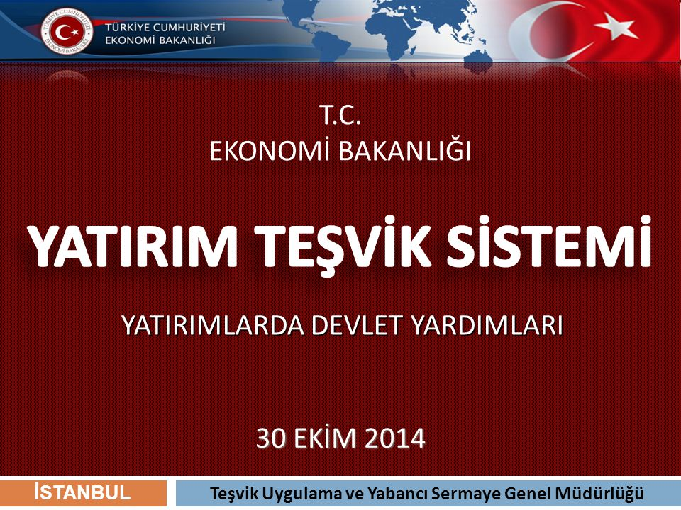 22 Termal turizm konusunda bölgesel desteklerden yararlanabilecek nitelikteki turizm konaklama yatırımları (İstanbul ili hariç) öncelikli yatırım konuları arasında belirlenmiş olup, anılan yatırımlar 5.