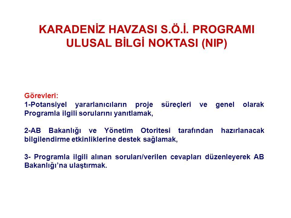 KARADENİZ HAVZASI S.Ö.İ.