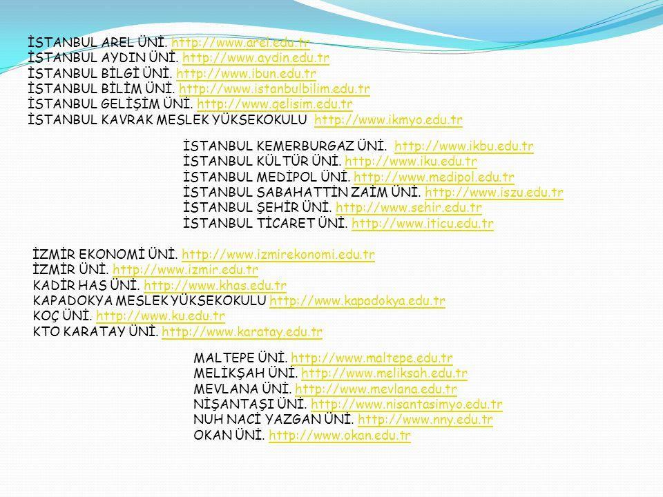 ÖZYEĞİN ÜNİ.http://www.ozyegin.edu.trhttp://www.ozyegin.edu.tr PİRİ REİS ÜNİ.