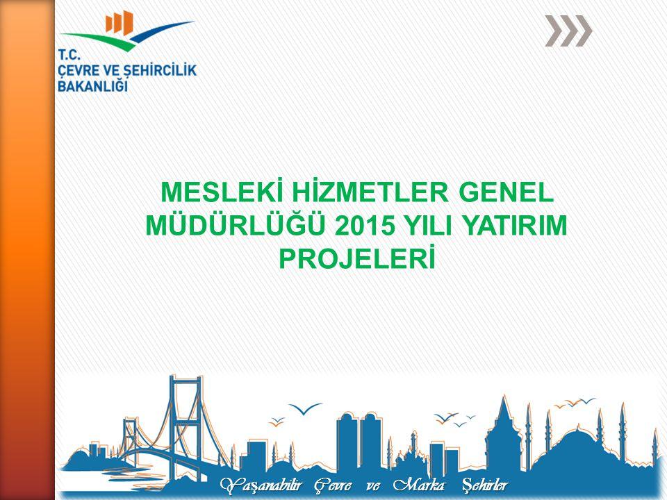 Projenin Hedefi: Yapı malzemelerine ilişkin mevzuatın düzenlenmesi ile piyasa gözetim ve denetim sisteminin etkinleştirilmesini sağlamak.