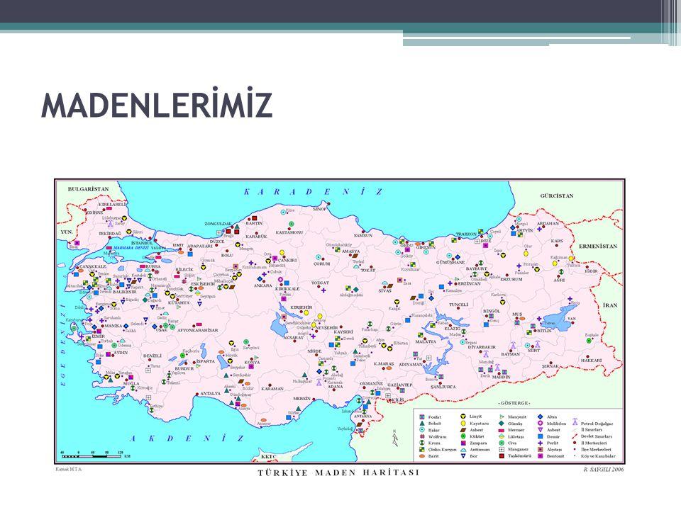 MADENLERİMİZ