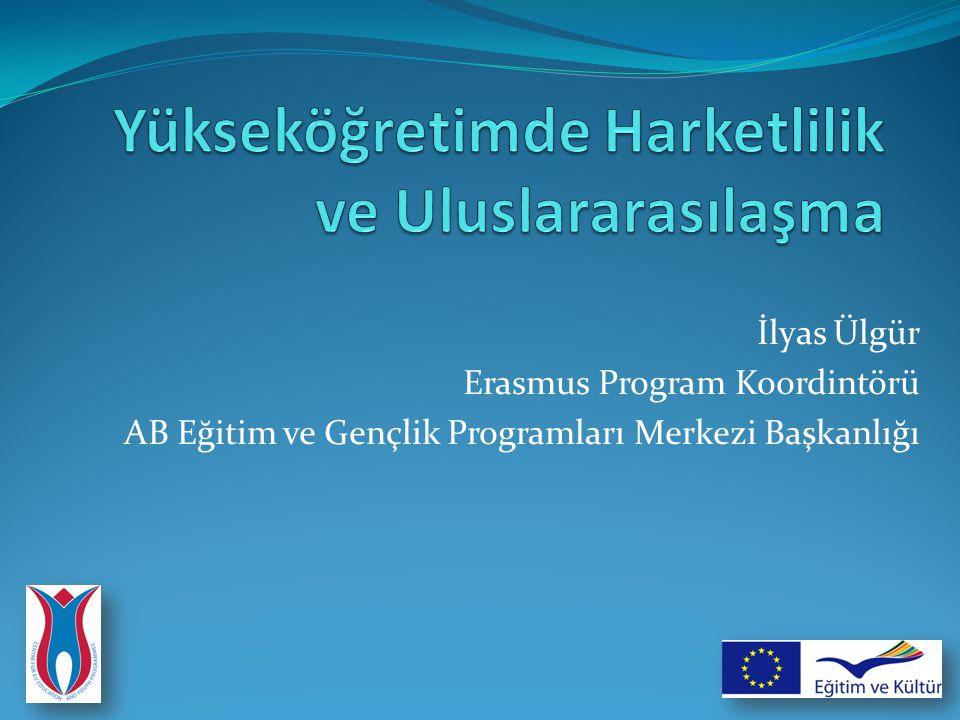 İlyas Ülgür Erasmus Program Koordintörü AB Eğitim ve Gençlik Programları Merkezi Başkanlığı