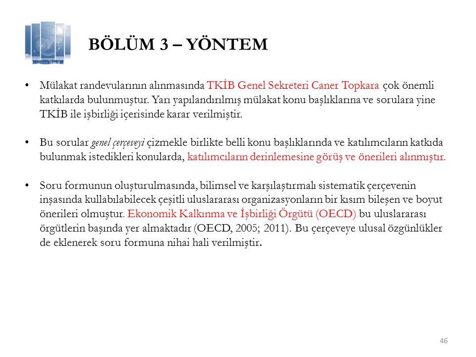 46 Mülakat randevularının alınmasında TKİB Genel Sekreteri Caner Topkara çok önemli katkılarda bulunmuştur.