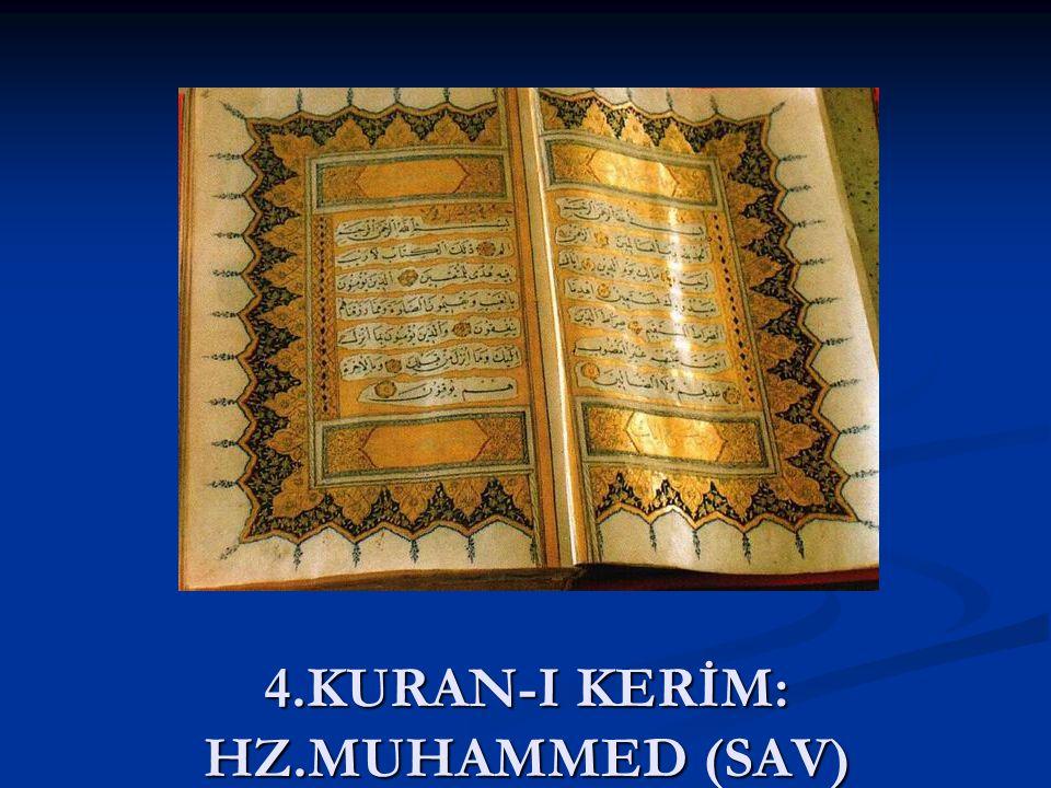 Kuran-ı Kerim evrensel bir kitaptır Başka kitap gelmeyecektir Başka kitap gelmeyecektir Renk,dil,ırk ayrımı yapmadan bütün insanlara seslenir Renk,dil,ırk ayrımı yapmadan bütün insanlara seslenir Her bölgedeki insanlara hitap eder Her bölgedeki insanlara hitap eder