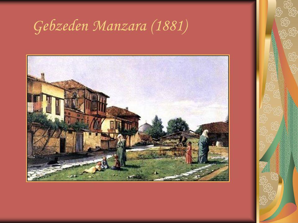 Gebzeden Manzara (1881)