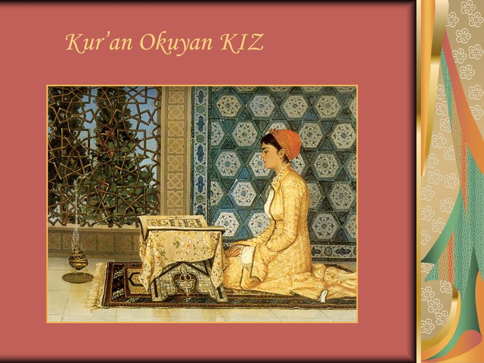Kur'an Okuyan KIZ