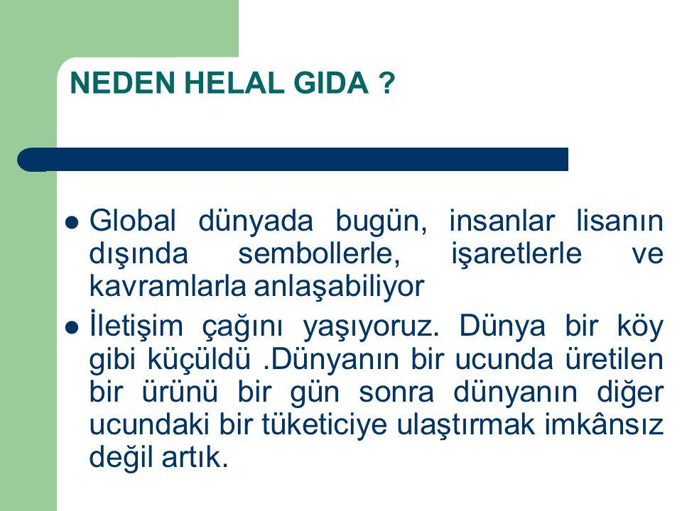 NEDEN HELAL GIDA .