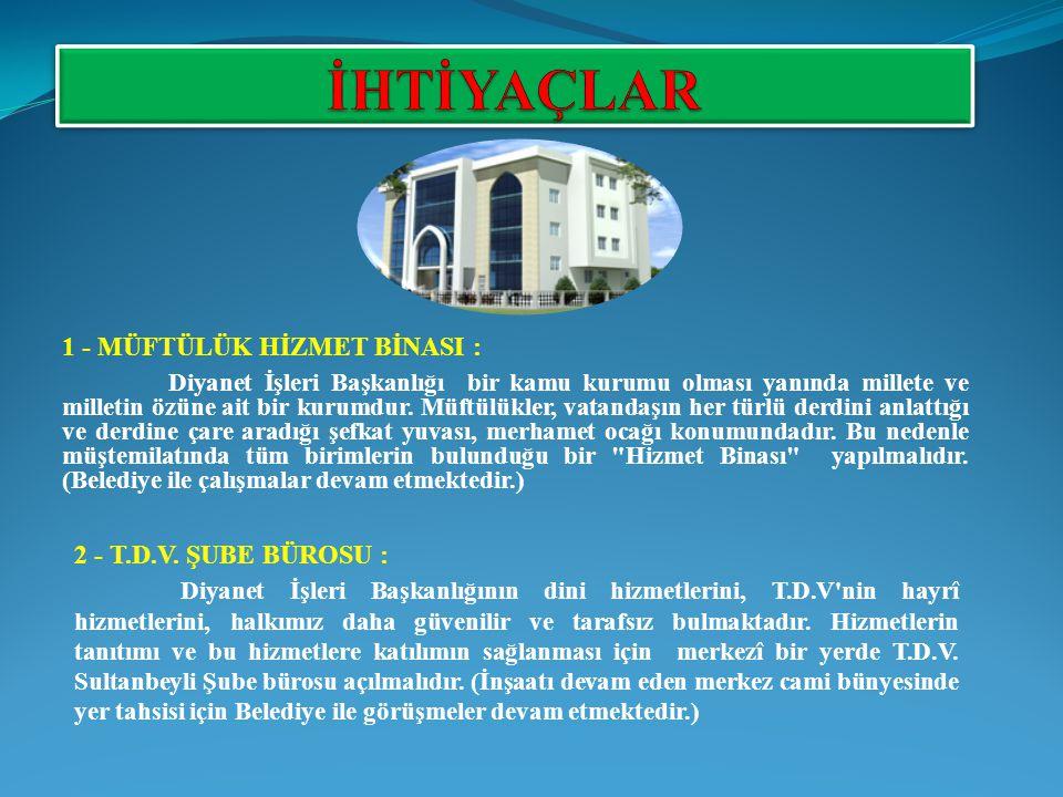 6 – İMAM HATİPLİLERLE SABAH NAMAZI BULUŞMASI Sultanbeyli de İmam hatip lisesi ve orta okullarında 7200 öğrenci eğitim ve öğretime devam ediyor.