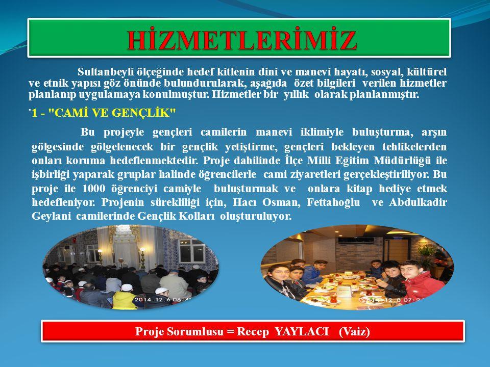 9- DİN KÜLTÜRÜ ÖĞRETMENİYLE İLETİŞİM Sultanbeyli de İlk okul, orta okul ve liselerde 138 Din kültürü ve ahlak bilgisi öğretmeni görev yapıyor.