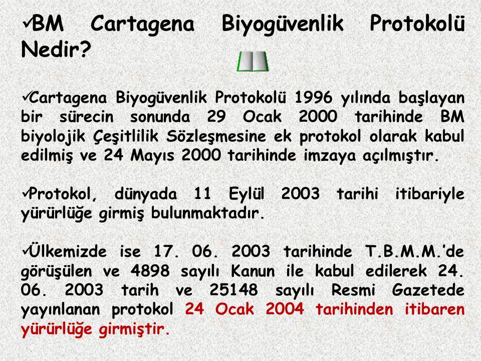 BM Cartagena Biyogüvenlik Protokolü Nedir.
