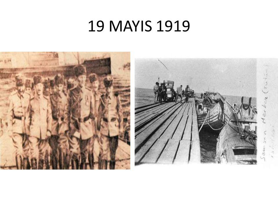 19 MAYIS 1919