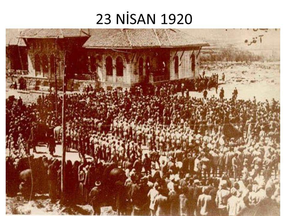 23 NİSAN 1920