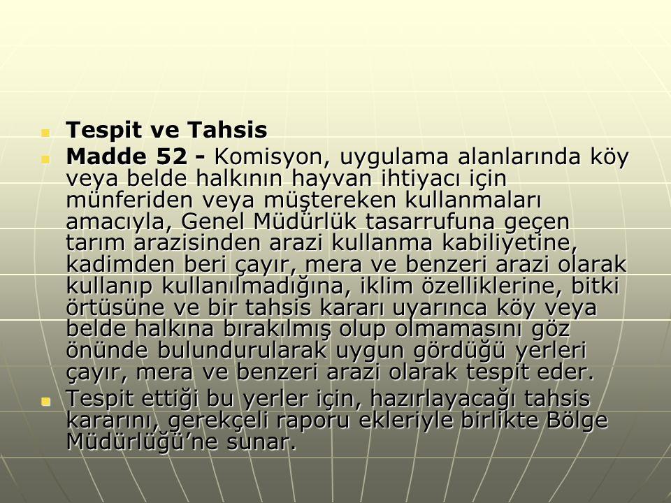 Türkiye de kırsal mekanı ve ondaki hayatı çepeçevre saran siyasi ve hukuki bir yapılanmadan söz etmek mümkün değildir.