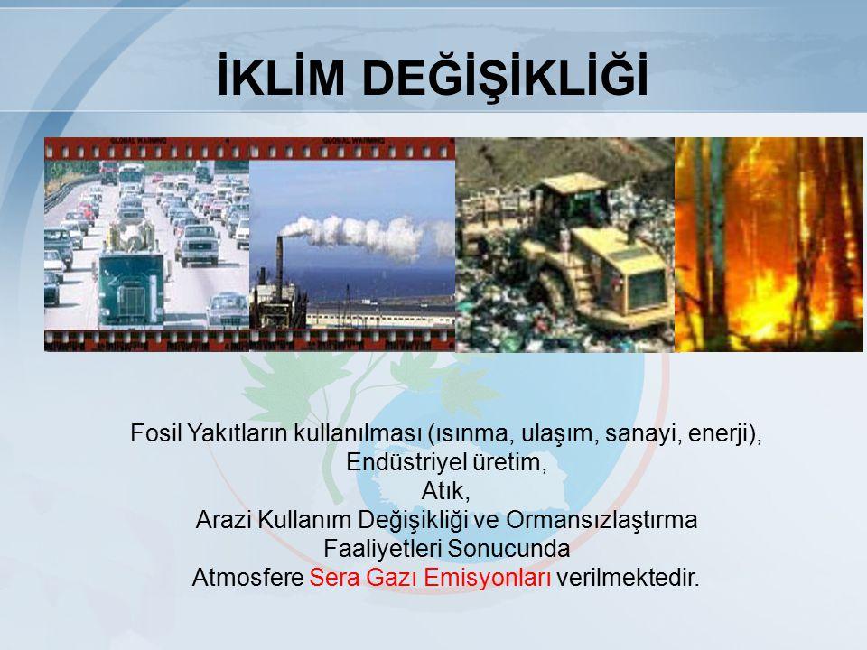 SERA GAZI EMİSYONLARI