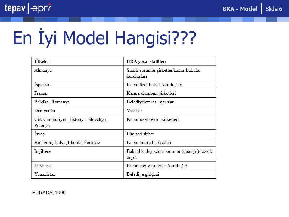 BKA - Model Slide 6 En İyi Model Hangisi??.