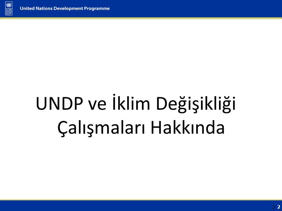 3 UNDP Hakkında Odak Çalışma Alanları Demokratik Yönetişim Yoksulluğun Azaltılması Çevre ve Sürdürülebilir Kalkınma Diğer Çalışma Alanları Proje Uygulama Desteği Özel Sektör ile İşbirliği Kalkınma ve Cinsiyet Bilişim Teknolojileri Bu alanlarda ilerleme kaydetmek için, UNDP aşağıdaki mercilerle ortaklıklar kurmayı amaçlamaktadır: merkezi hükümet, yerel yönetimler, sivil toplum, akademisyenler özel sektör