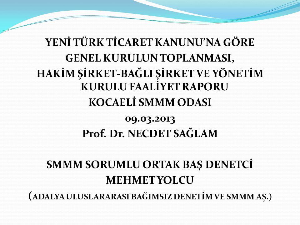 SERMAYE ŞİRKETLERİNDE (ANONİM – LİMİTED) GENEL KURUL VE ESAS SÖZLEŞME DEĞİŞİKLİĞİ GENEL KURUL GEREKÇESİ 6102 Sayılı Türk Ticaret Kanunu'nda, Anonim ve Limited şirketlerin Genel Kurul toplantılarının şekli, yeri, çağırmaya yetkili olanlar, toplantıya davet usulü, toplantı gündemi, toplantıda temsil, oy hakkı, toplantının ertelenmesi, toplantının yapılması, karar nisabı, toplantı tutanağı, genel kurulun reddi, genel kurul kararının yürütülmesinin geri bırakılması ve iptaline ilişkin hükümler belirlenmiştir.
