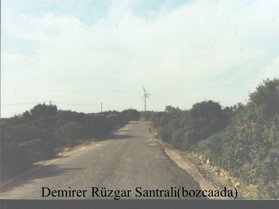 Demirer Rüzgar Santrali(bozcaada)