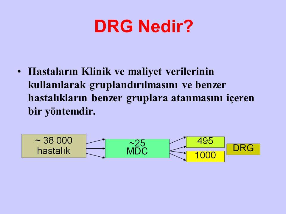 DRG Nedir.