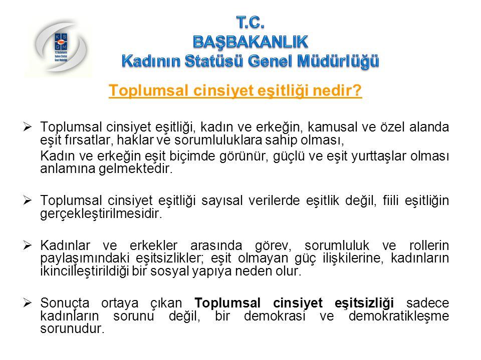 Türkiye'de Kadının Durumu İstihdam (devam)  Kamu sektöründe kadın istihdam oranı % 23,6 iken,  Özel sektörde %26,4'tür.