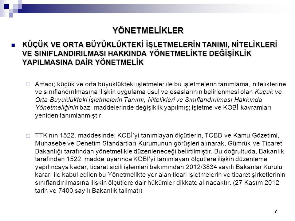 58 LİMİTED ŞİRKET TASFİYEYE GİRİŞ –TASFİYE SONU – TASFİYEDEN DÖNÜLMESİ Temsile yetkili tasfiye memurlarından en az birinin Türk vatandaşı olması ve yerleşim yerinin Türkiye'de bulunması şarttır.