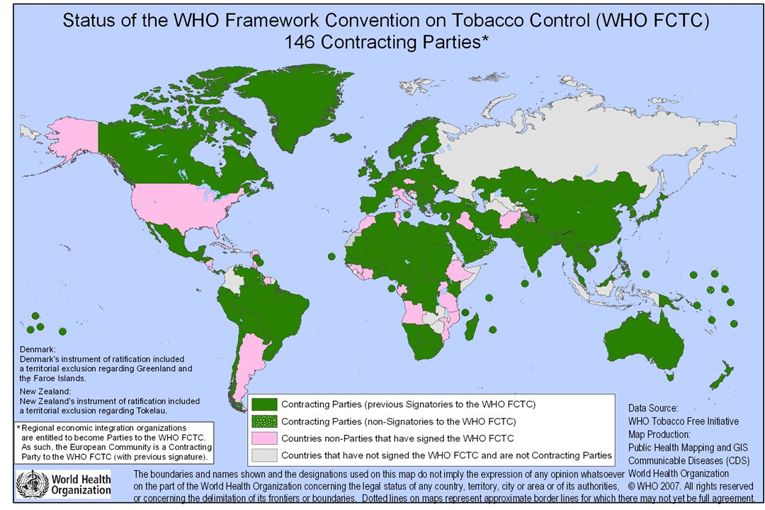 1.Halkı Bilgilendirme, Bilinçlendirme ve Eğitim 2.Çevresel Tütün Dumanı (Pasif İçicilik) 3.Sigarayı Bırakma 4.Reklâm, Promosyon ve Sponsorluk 5.Gençlerin Ulaşabilirliği 6.Tütün Üretimi, Vergilendirme, Ürün Kontrolü, Tüketicinin Bilinçlendirilmesi ve Yasadışı Ticaret 7.Tütün kullanımının izlenmesi ve değerlendirilmesi YILLIK EYLEM PLANLARININ HAZIRLANMASI (7 Çalışma Grubu)
