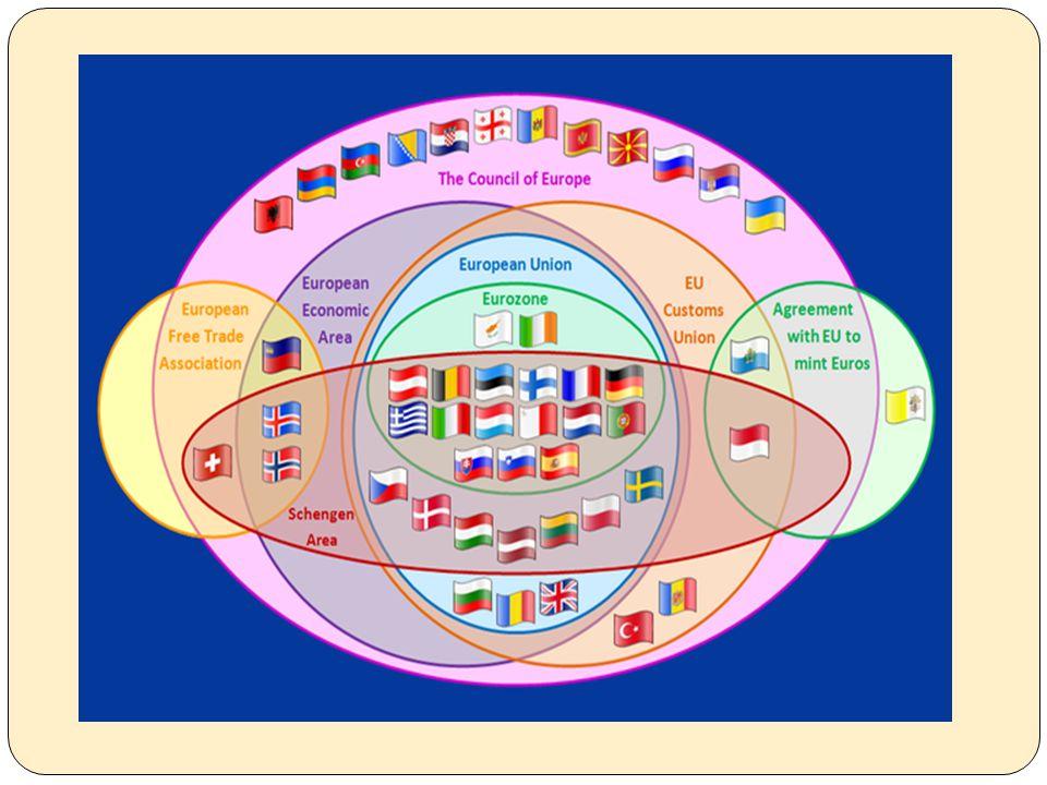 Avrupa Birliği Politikası Avrupa Birli ğ i nin en çok ilgilendi ğ i iki konu Avrupa entegrasyonu ve Avrupa Birli ğ inin geni ş lemesi sürecidir.