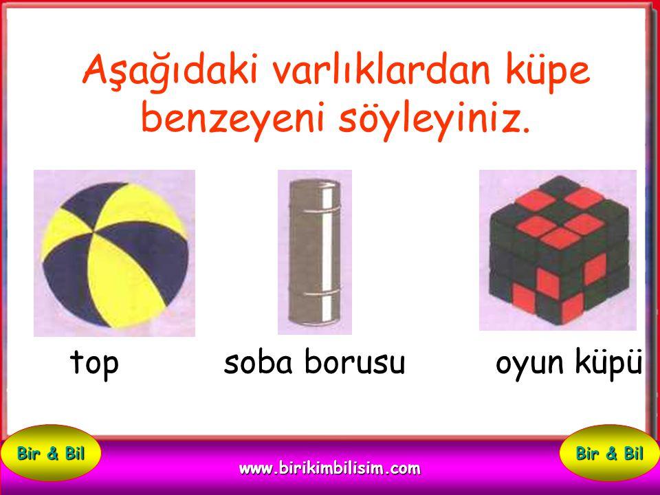 Çevrenizde küpe benzeyen üç varlık adı söyleyiniz. 1: 2: 3: www.birikimbilisim.com Bir & Bil