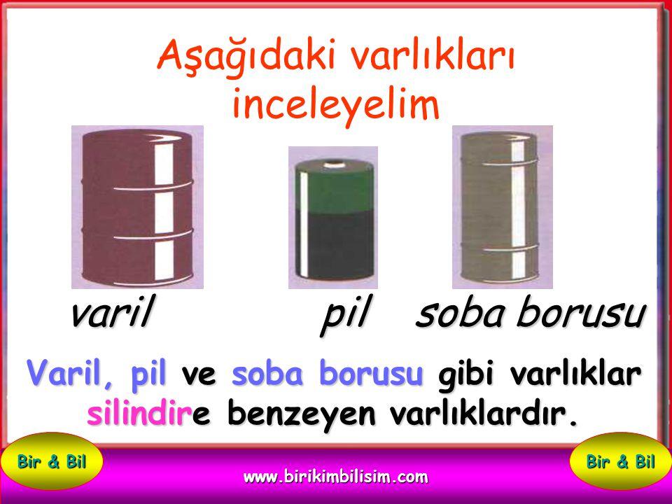 Silindire Benzeyen Varlıklar www.birikimbilisim.com Bir & Bil