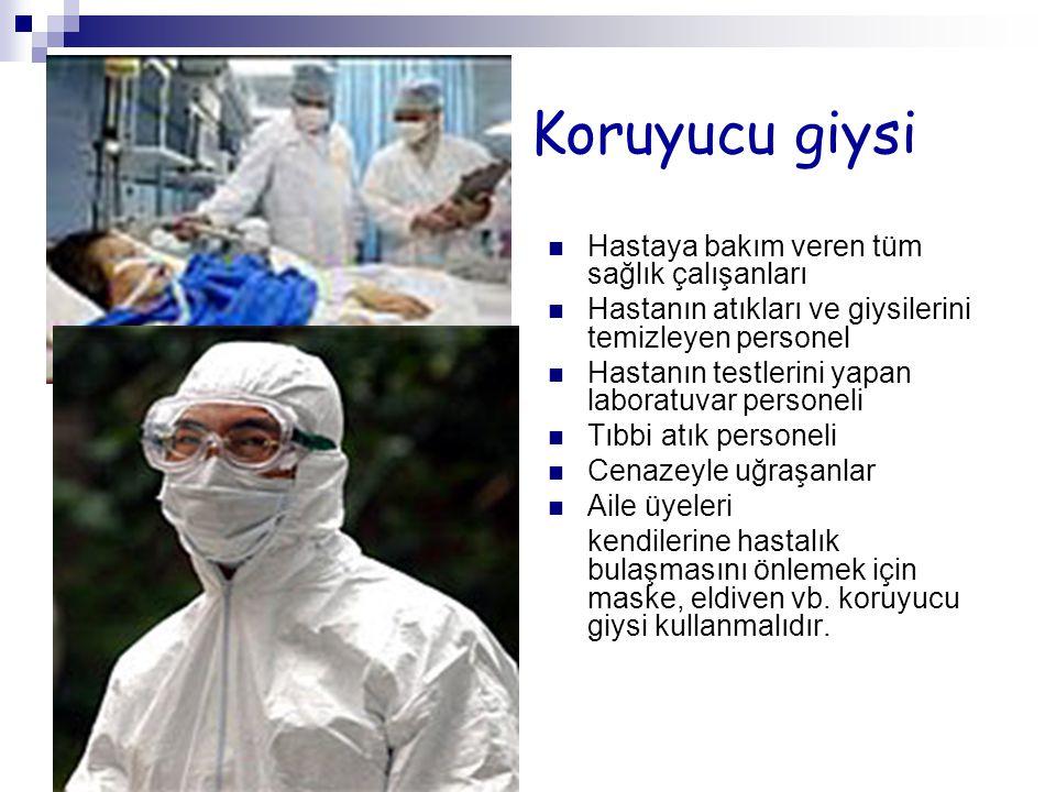 KESİN TANI Kesin tanı için, şüpheli vakalardan kan örneği alınarak Ankara Refik Saydam Hıfzıssıhha Merkezine gönderilir.