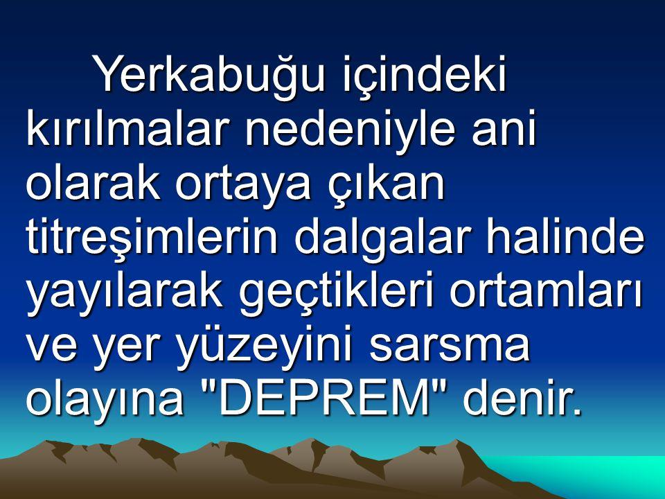 Türkiye de aktif yanardağ olmadığı için bu tip depremler olmamaktadır.