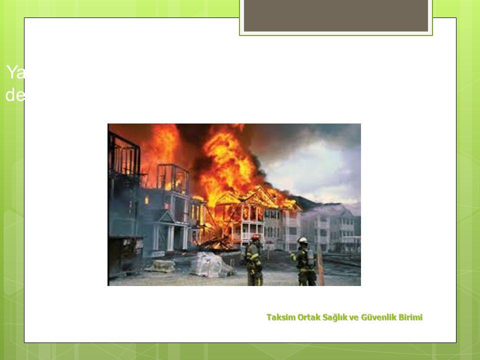 Rüzgarı Arkana Al Cihazı Alevin Dibine Tut Cihazı Yangının Doğduğu Yere Tut Evvela Önü Sonra İleriyi Söndür Yangın Tamamen Sönmeden Ayrılma Cihazı Dol