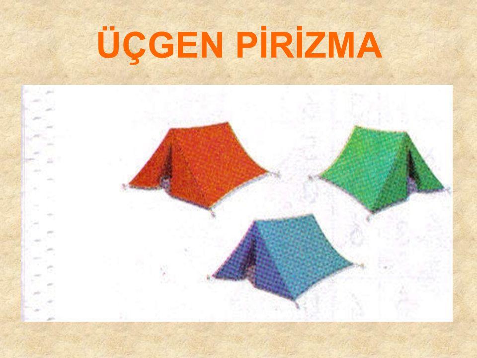 CİSİMLERİN YÜZEYLERİ Pirizma yüzeyi modeli silindir yüzeyi modeli Küre yüzeyi modeli Koni yüzeyi modeli