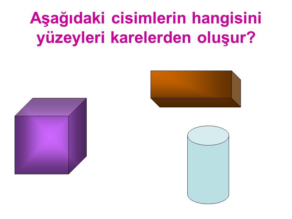 Aşağıdaki şekillerden hangisi prizmadır?