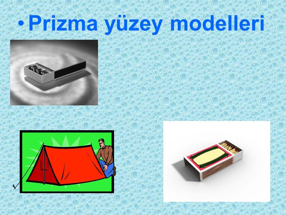 Prizma yüzey modelleri