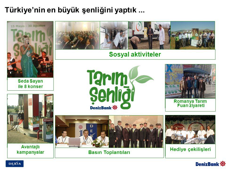 Türkiye'nin en büyük şenliğini yaptık...