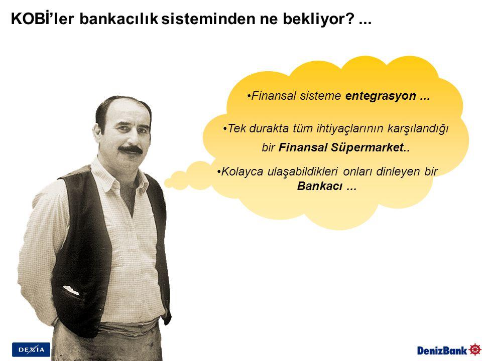 KOBİ'ler bankacılık sisteminden ne bekliyor ... Finansal sisteme entegrasyon...