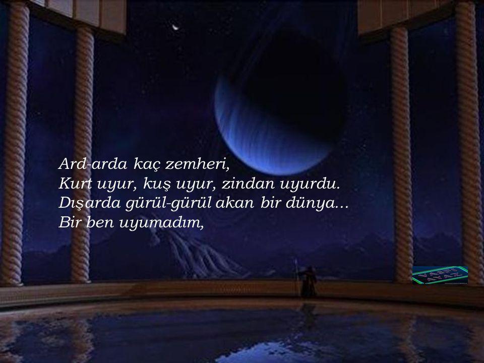 Ahmet Arif'ten Hasretinden prangalar eskittim Seni, anlatabilmek seni. Iyi çocuklara, kahramanlara. Seni anlatabilmek seni, Namussuza, halden bilmeze,